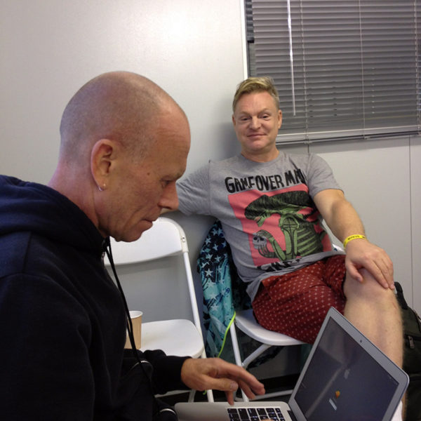 ERASURE - Live Facebook Q&A (2014)