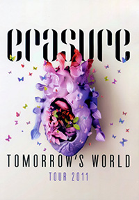 ERASURE - Tomorrow's World Tour Programme (2013)