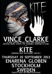 ERASURE - Vince Clarke in Stockholm (2013)