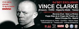 VINCE CLARKE - Madrid DJ Date (2014)